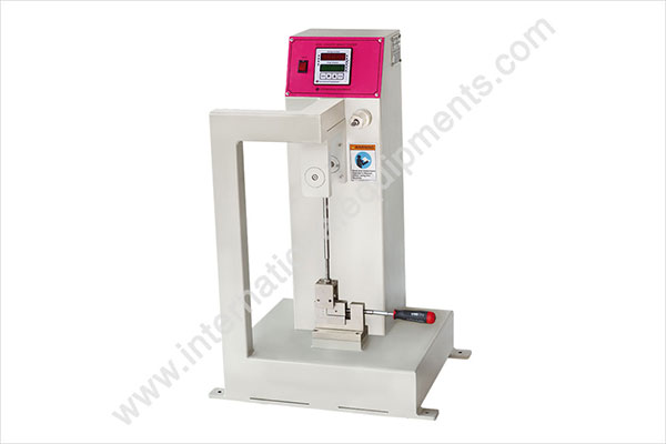 manufacturers and suppliers of Izod / Charpy impact tester
