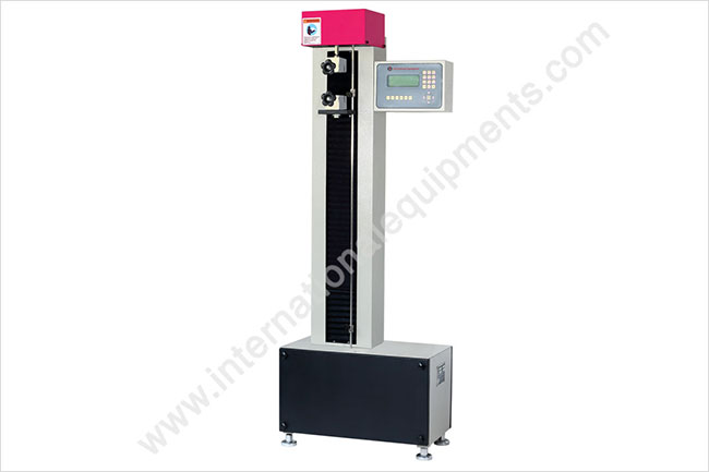 Single Screw Tensile Testing Machine